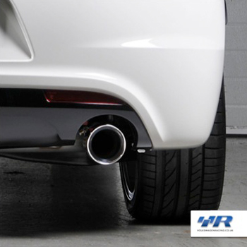 VWR Scirocco R Exhaust Close Up